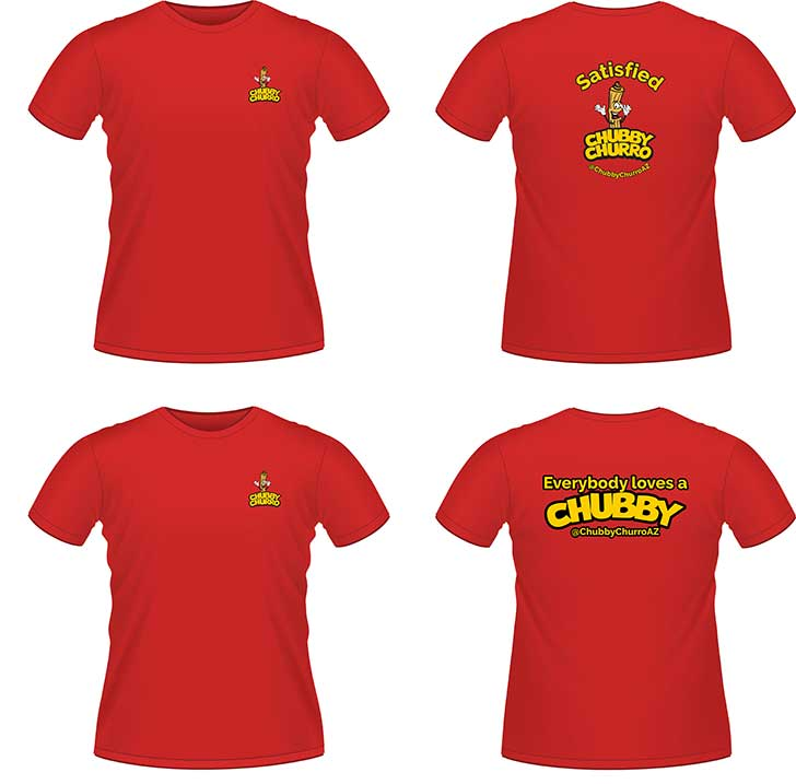 Chubby Churro t-shirt design image